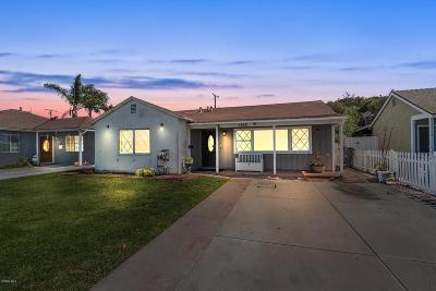Oxnard Single Family Home For Sale: 1230 South N Street