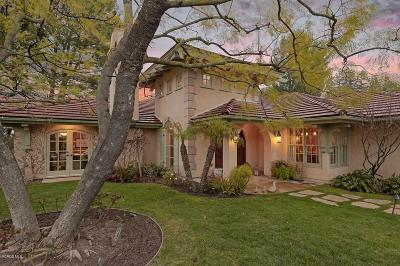 Westlake Village Single Family Home Active Under Contract: 4918 Floresta Court