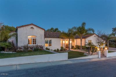 Camarillo Single Family Home For Sale: 670 Mesa Drive