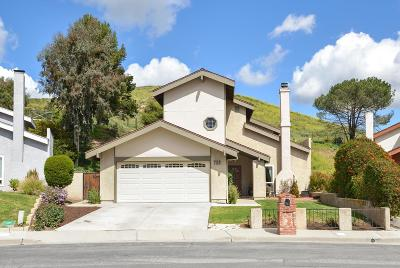Newbury Park Single Family Home For Sale: 726 Paseo Montecito
