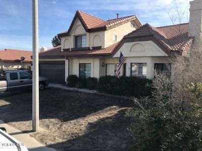 Palmdale Single Family Home For Sale: 5304 Blue Sage Drive