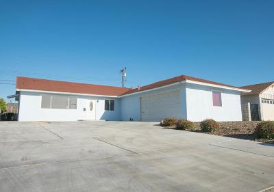 Oxnard Single Family Home Active Under Contract: 3640 Fournier Street