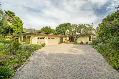 Thousand Oaks Single Family Home For Sale: 1428 El Monte Drive