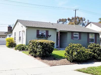Ventura Single Family Home For Sale: 2764 Channel Drive