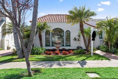 Ventura Single Family Home For Sale: 1560 San Nicholas Street