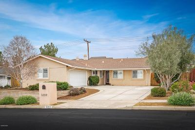 Simi Valley Single Family Home Active Under Contract: 3259 Fletcher Street