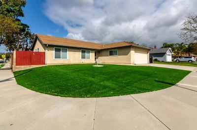 Ventura Single Family Home For Sale: 2511 Toltec Court