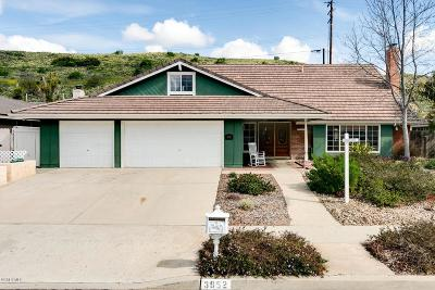 Thousand Oaks Single Family Home For Sale: 3952 Verde Vista Drive