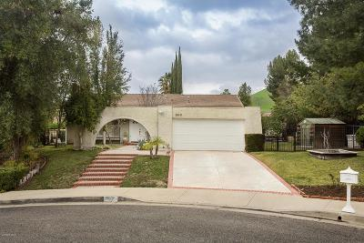 Agoura Hills Single Family Home For Sale: 28631 Bamfield Drive