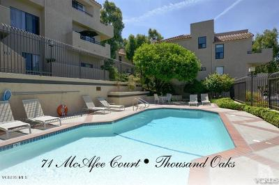Thousand Oaks Condo/Townhouse For Sale: 71 McAfee Court