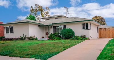 Ventura Single Family Home For Sale: 250 Palomares Avenue