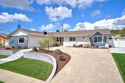 Camarillo Single Family Home For Sale: 287 Calle Navarro