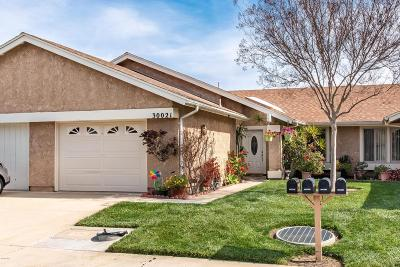 Camarillo Single Family Home Active Under Contract: 30021 Village 30
