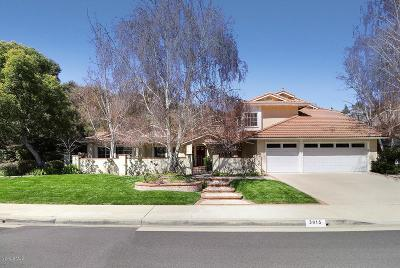 Westlake Village Single Family Home Active Under Contract: 3015 Three Springs Drive