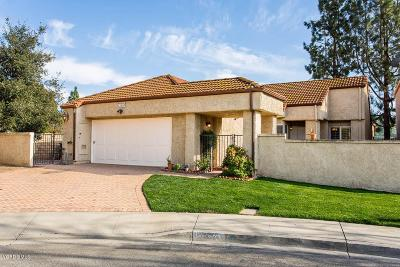 Moorpark Single Family Home Active Under Contract: 15392 Bambi Court