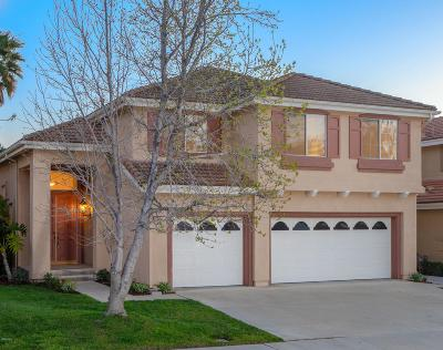 Moorpark Single Family Home Active Under Contract: 15568 Borges Drive