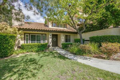 Thousand Oaks Single Family Home For Sale: 1089 Monte Sereno Drive