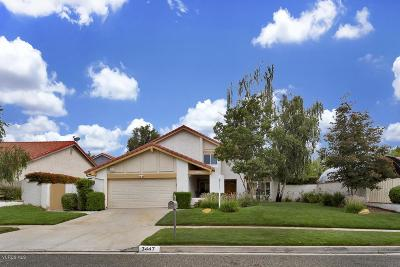 Simi Valley Single Family Home For Sale: 3447 Circle View Drive