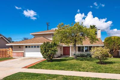 Camarillo Single Family Home For Sale: 1595 Lyndhurst Avenue