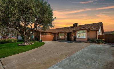 Camarillo Single Family Home For Sale: 110 Flora Vista Avenue