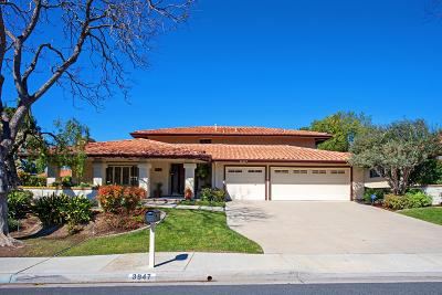 Thousand Oaks Single Family Home For Sale: 3947 Calle Del Sol
