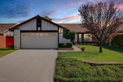 Camarillo Single Family Home Active Under Contract: 6210 Calle Bodega