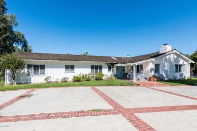 Camarillo Single Family Home Active Under Contract: 315 Valley Vista Drive