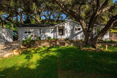 Ojai Single Family Home For Sale: 1620 South Rice Road