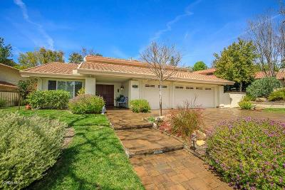 Thousand Oaks Single Family Home For Sale: 3971 Calle Del Sol