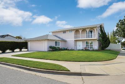 Camarillo Single Family Home Active Under Contract: 2904 Wendell Street