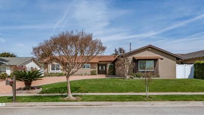 Camarillo Single Family Home Active Under Contract: 61 Mansfield Lane