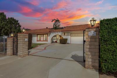 Camarillo Single Family Home For Sale: 216 Camarillo Drive