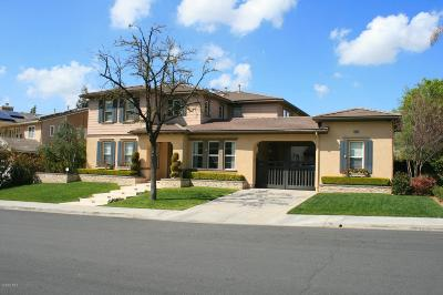 Stevenson Ranch Single Family Home Active Under Contract: 25635 Morning Mist Drive