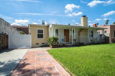 Glendale Single Family Home For Sale: 1604 Glenwood Road