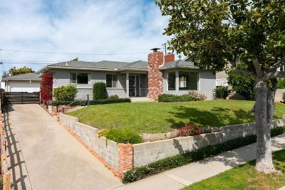 Ventura Single Family Home Active Under Contract: 409 Sierra Drive