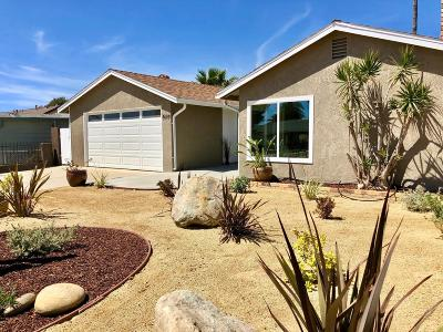 Ventura Single Family Home For Sale: 3977 Maple Street