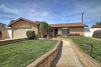 Ventura Single Family Home Active Under Contract: 2245 Sunridge Drive