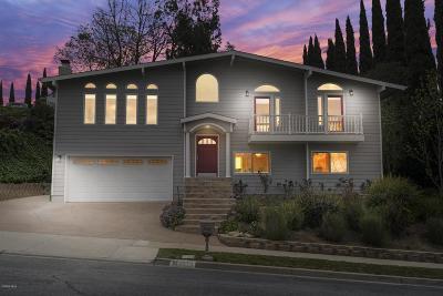 Thousand Oaks Single Family Home For Sale: 4270 Avenida Prado