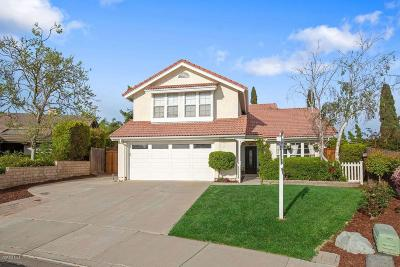 Camarillo Single Family Home Active Under Contract: 6084 Fremont Circle