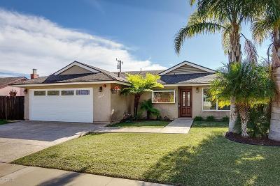 Ventura Single Family Home Active Under Contract: 5624 Loma Vista Road