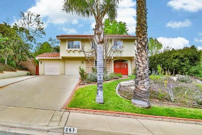 Newbury Park Single Family Home Active Under Contract: 267 Poplar Crest Avenue