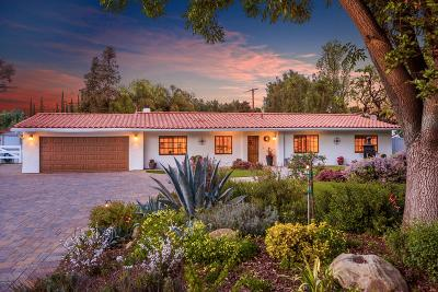 Agoura Hills Single Family Home For Sale: 5316 Lewis Road