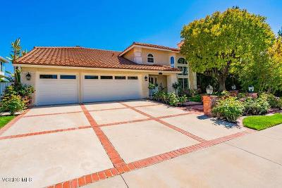 Agoura Hills Single Family Home Active Under Contract: 5816 Stonecrest Drive