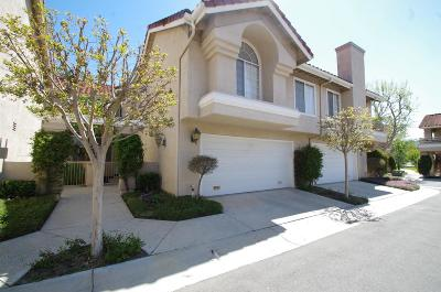 Simi Valley Condo/Townhouse Active Under Contract: 610 Geranium Lane #D