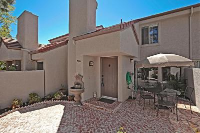 Westlake Village Condo/Townhouse For Sale: 786 Via Colinas