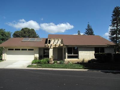 Camarillo Single Family Home For Sale: 23216 Village 23