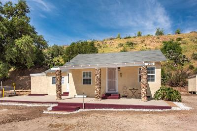Moorpark Single Family Home For Sale: 1215 Walnut Canyon Road