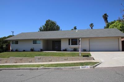 Simi Valley Single Family Home For Sale: 3337 Wichita Falls Avenue