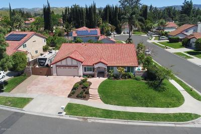Simi Valley Single Family Home For Sale: 2966 Kilaine Drive