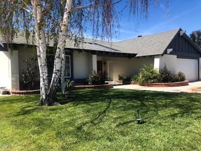 Simi Valley Single Family Home Active Under Contract: 2471 Burlingham Place